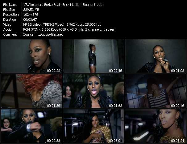 Alexandra Burke Feat. Erick Morillo video screenshot