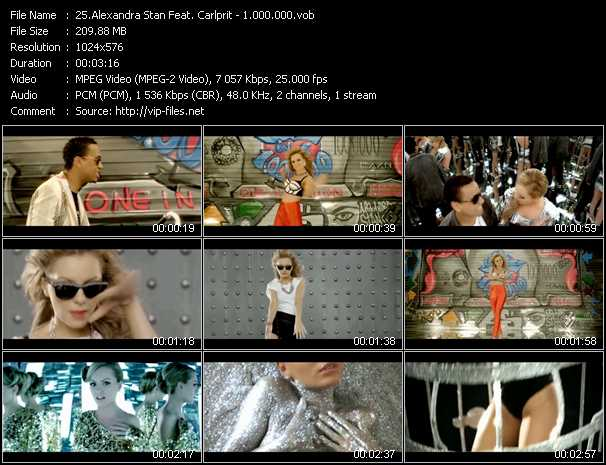 Alexandra Stan Feat. Carlprit video screenshot