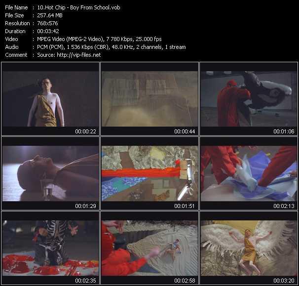 Hot Chip video screenshot