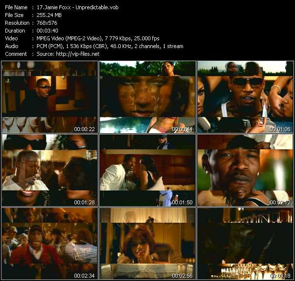 Jamie Foxx video screenshot