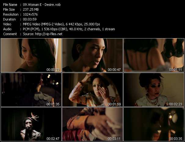 Woman E video screenshot