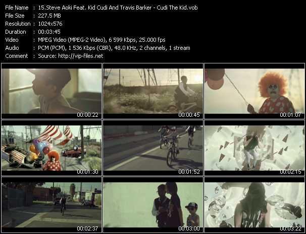 Steve Aoki Feat. Kid Cudi And Travis Barker video screenshot