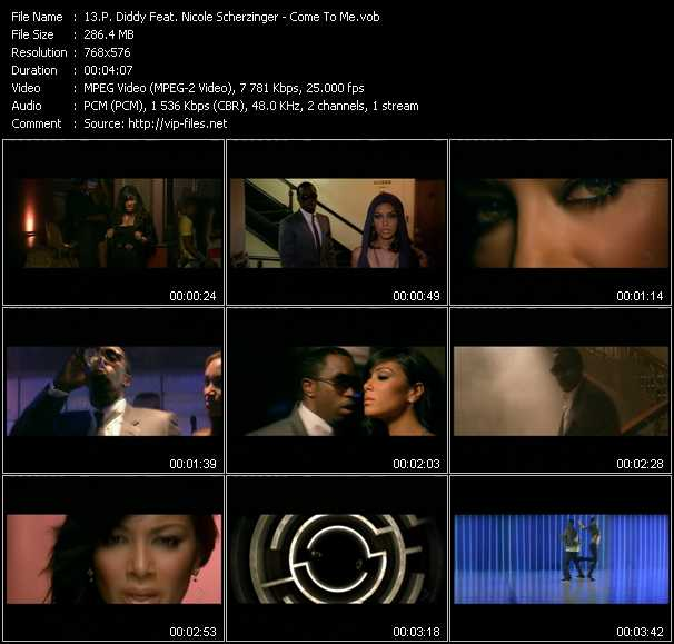 P. Diddy (Puff Daddy) Feat. Nicole Scherzinger video screenshot