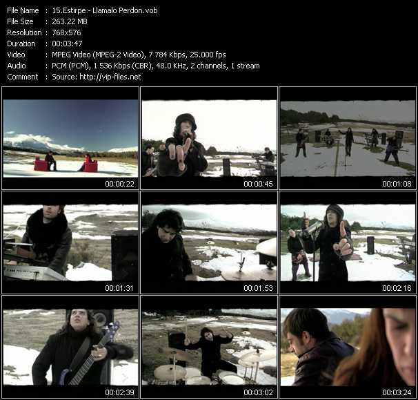 Estirpe video screenshot