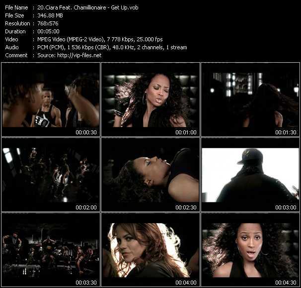 Ciara Feat. Chamillionaire video screenshot