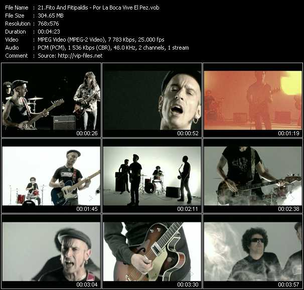 Fito And Fitipaldis video screenshot