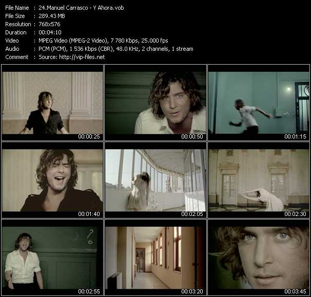 Manuel Carrasco video screenshot
