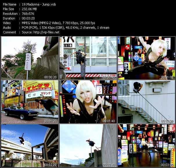 video Jump screen