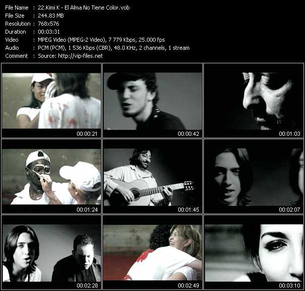 Kimi K video screenshot