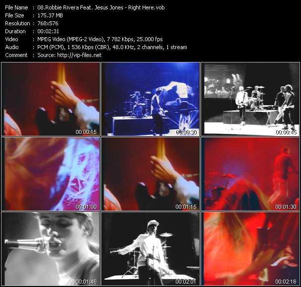 Robbie Rivera Feat. Jesus Jones video screenshot