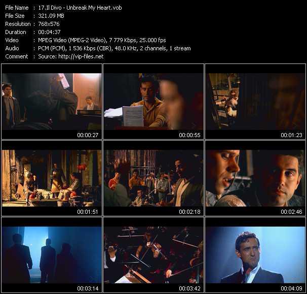 Il Divo video screenshot