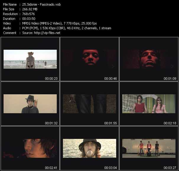Sidonie video screenshot