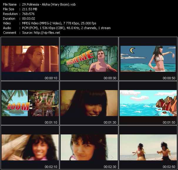 Polinesia video screenshot