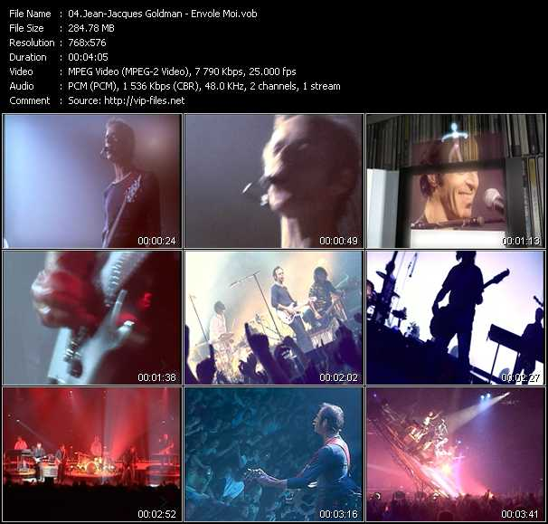 Jean-Jacques Goldman video screenshot