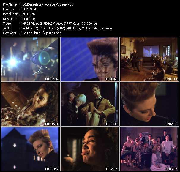 Desireless video screenshot
