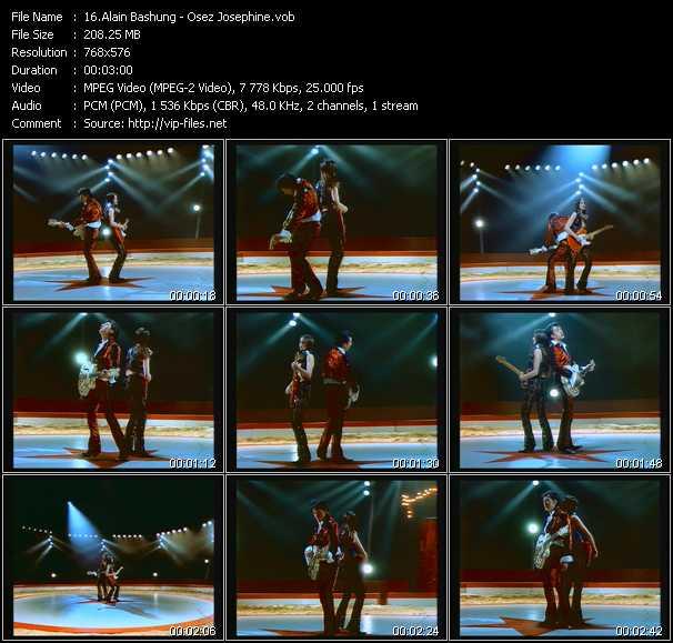 Alain Bashung video screenshot