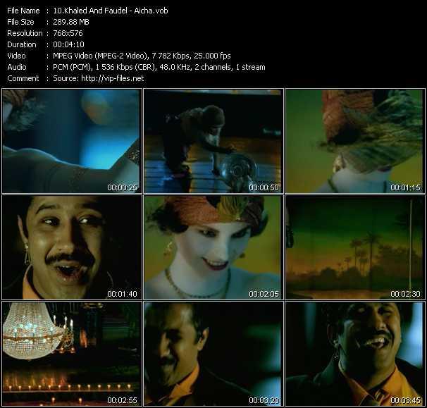 Khaled And Faudel video screenshot