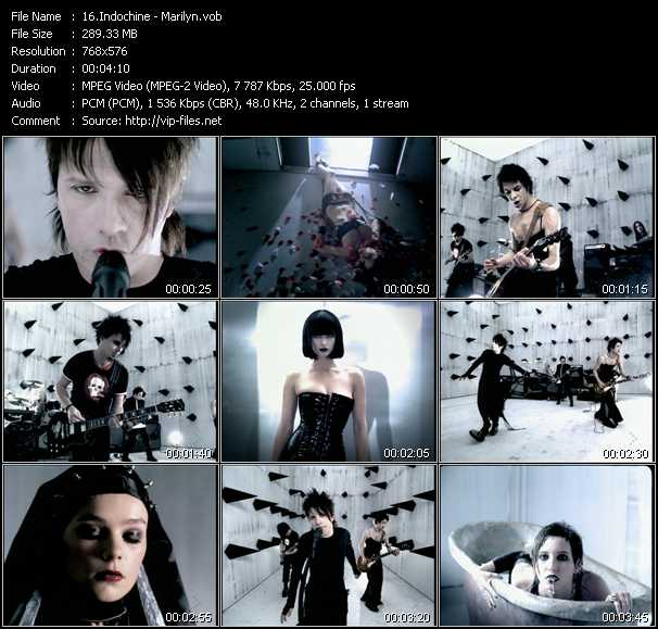 Indochine video screenshot