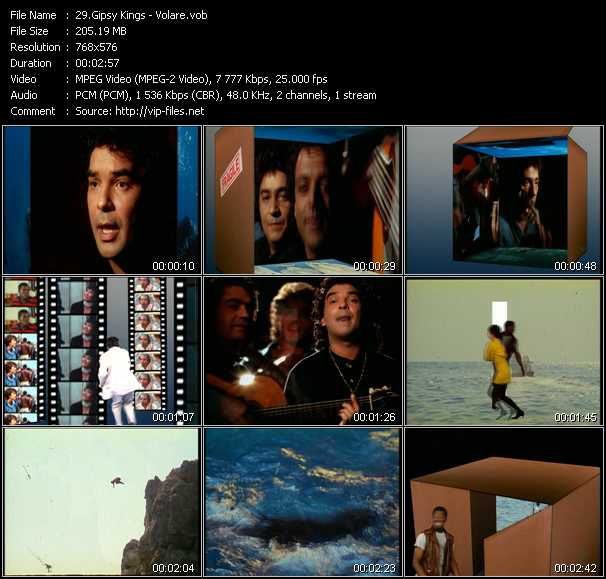 Gipsy Kings video screenshot
