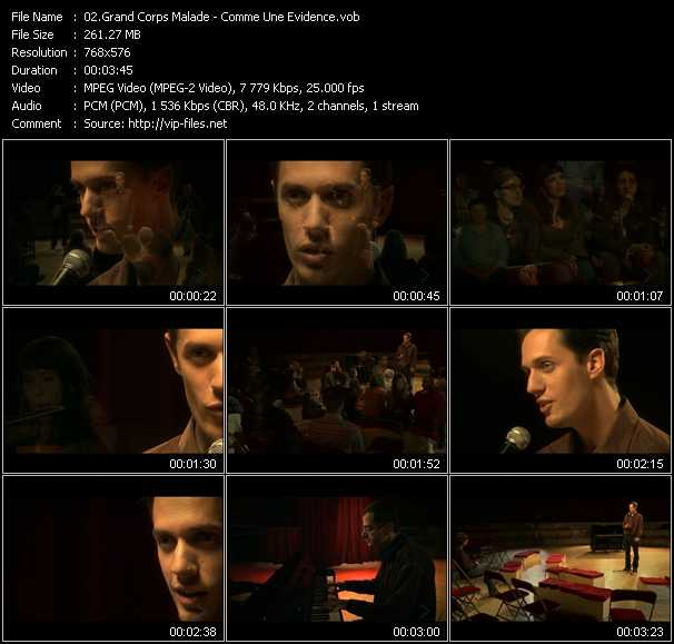 Grand Corps Malade video screenshot