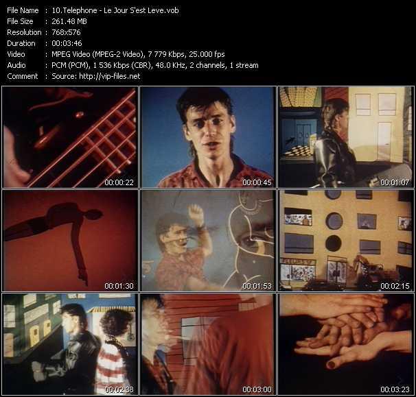 Telephone video screenshot