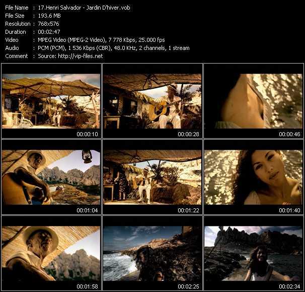 Henri Salvador video screenshot