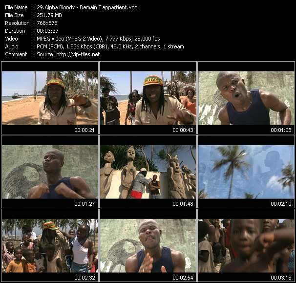 Alpha Blondy video screenshot