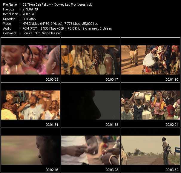 Tiken Jah Fakoly video screenshot