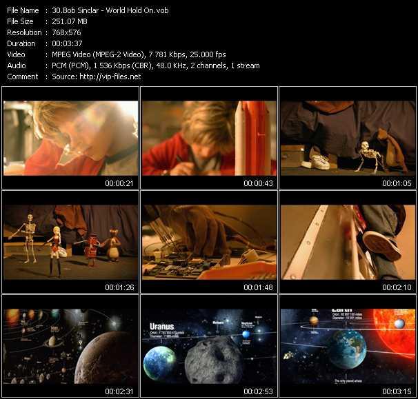 Bob Sinclar video screenshot