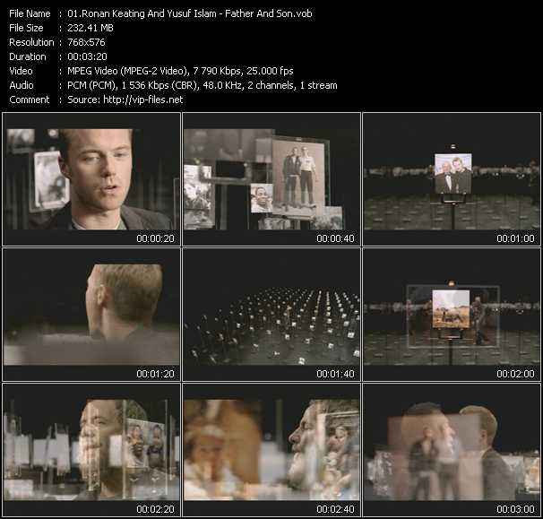 Ronan Keating And Yusuf Islam video screenshot