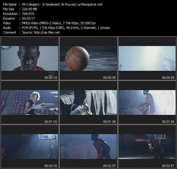 Calogero video screenshot