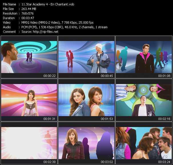 Star Academy 4 video screenshot