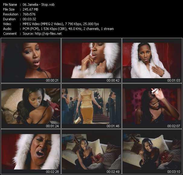 Jamelia video screenshot