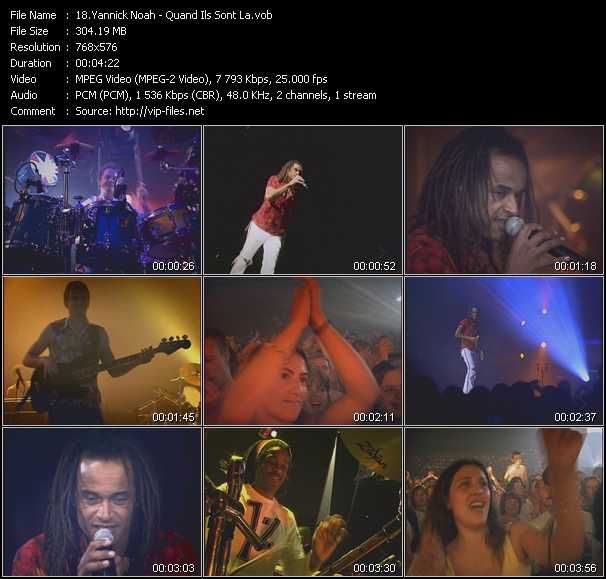 Yannick Noah video screenshot