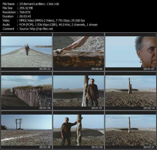 Bernard Lavilliers video screenshot