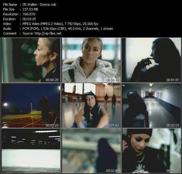 Wallen video screenshot
