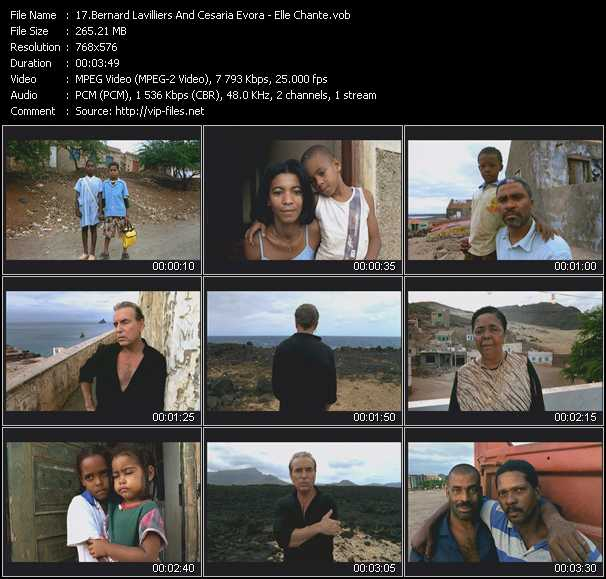 Bernard Lavilliers And Cesaria Evora video screenshot