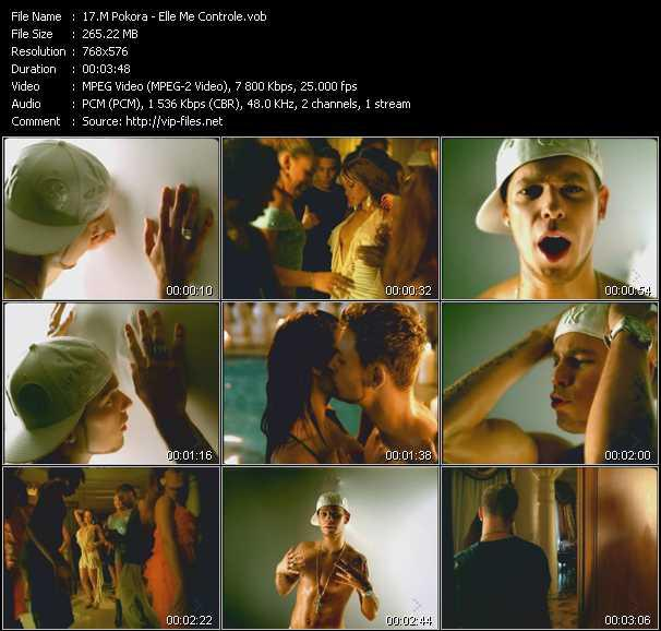 M. Pokora video screenshot