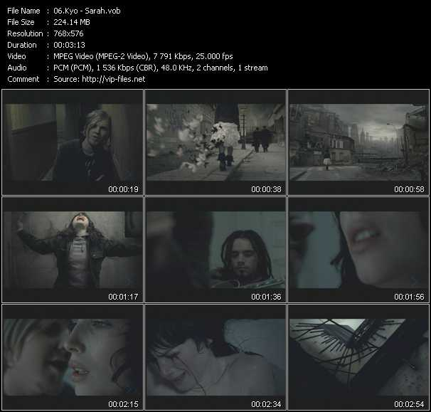 Kyo video screenshot