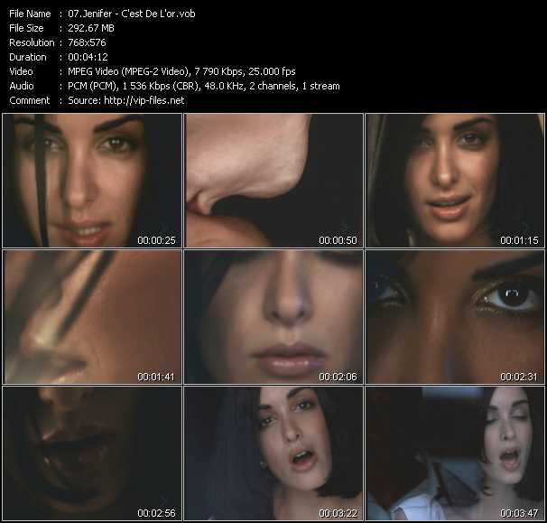Jenifer video screenshot