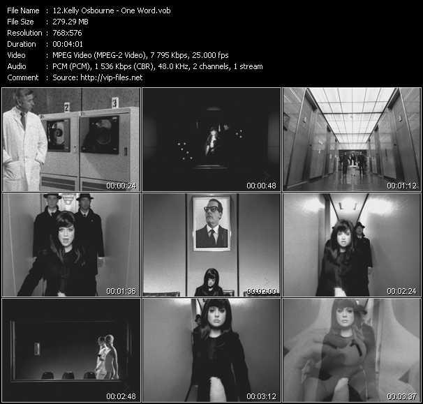 Kelly Osbourne video screenshot