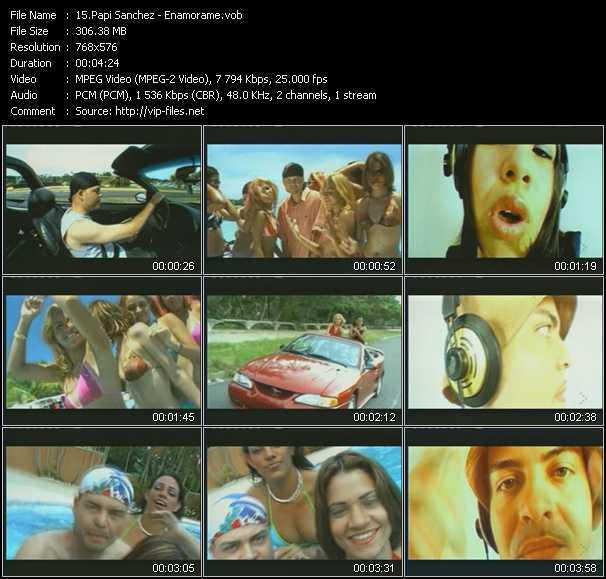 Papi Sanchez video screenshot