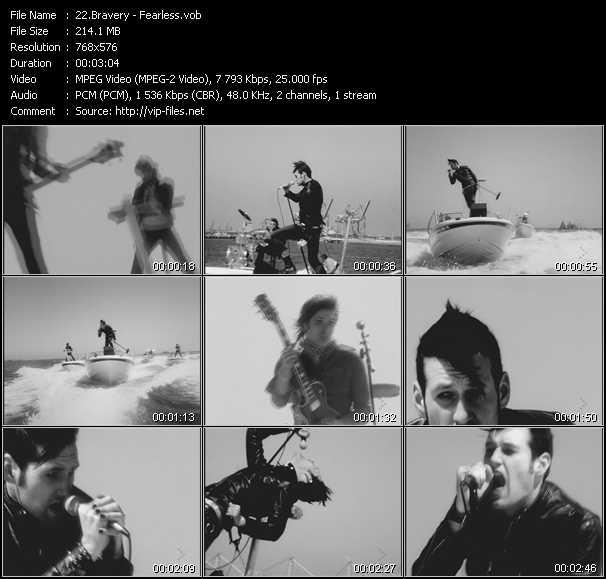 Bravery video screenshot