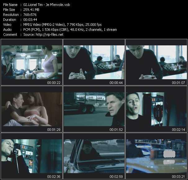 Lionel Tim video screenshot