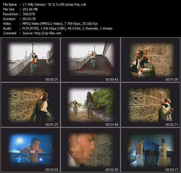 Willy Denzey video screenshot