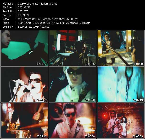 Stereophonics video screenshot