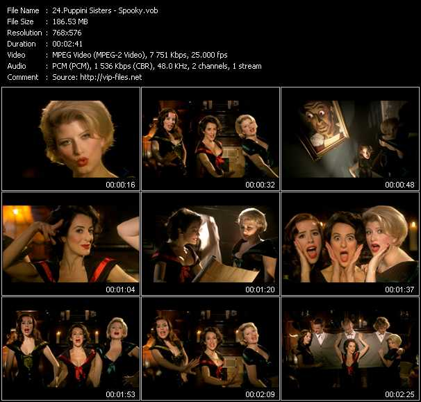 Puppini Sisters video screenshot