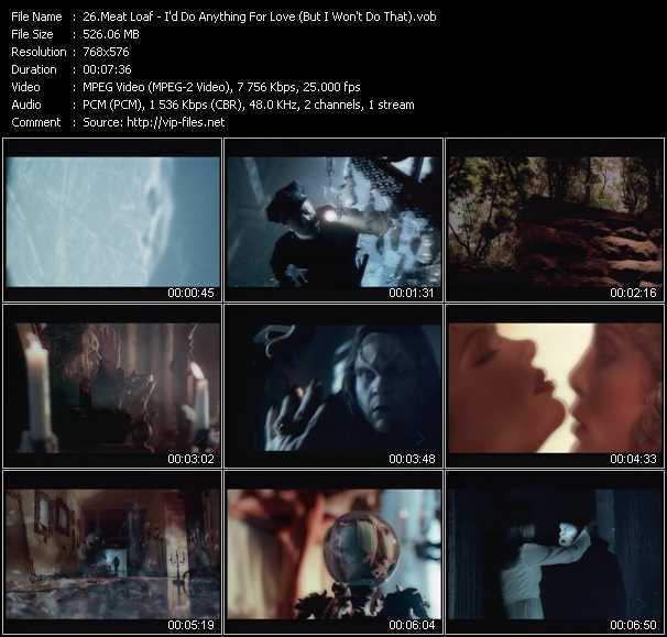 Meat Loaf video screenshot