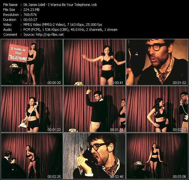 Jamie Lidell video screenshot