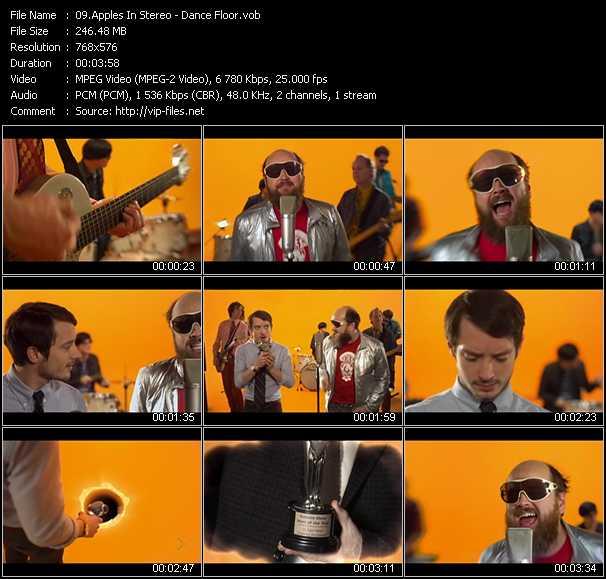 Apples In Stereo video screenshot